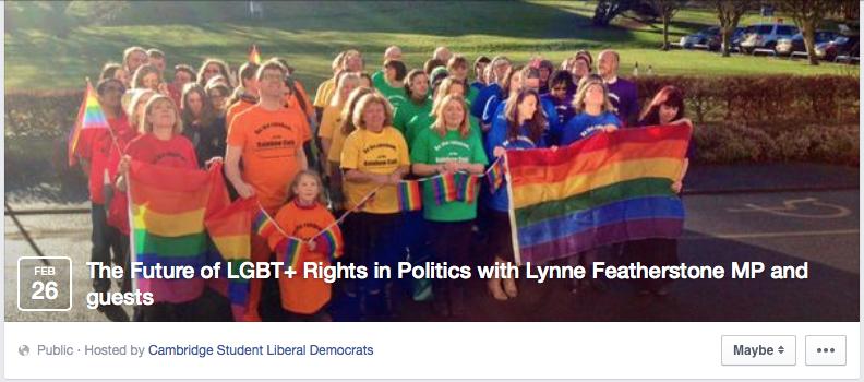 Credits: Cambridge Student Liberal Democrats via Facebook