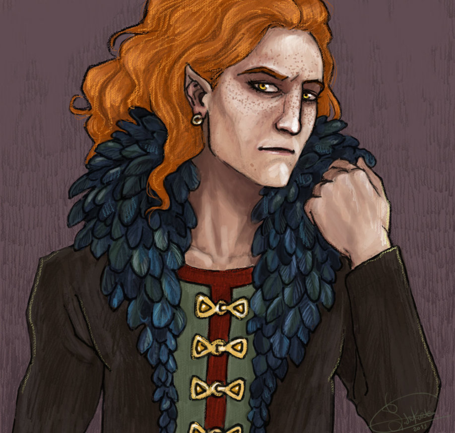 Loki Laufeyjarson, referred to as male in the texts but Credits: Finnguala